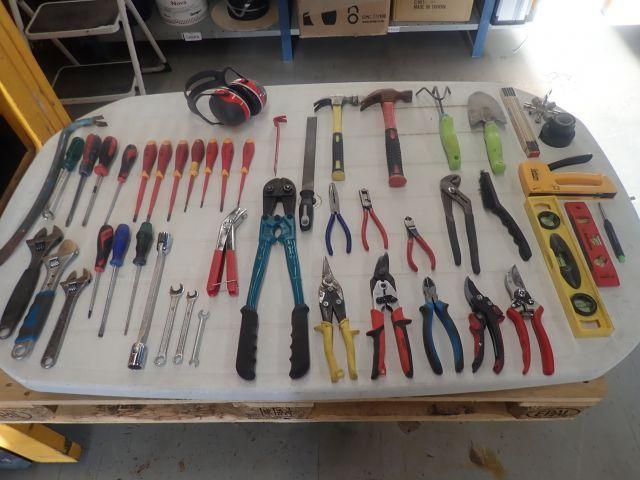 Verschiedene Handwerkzeuge