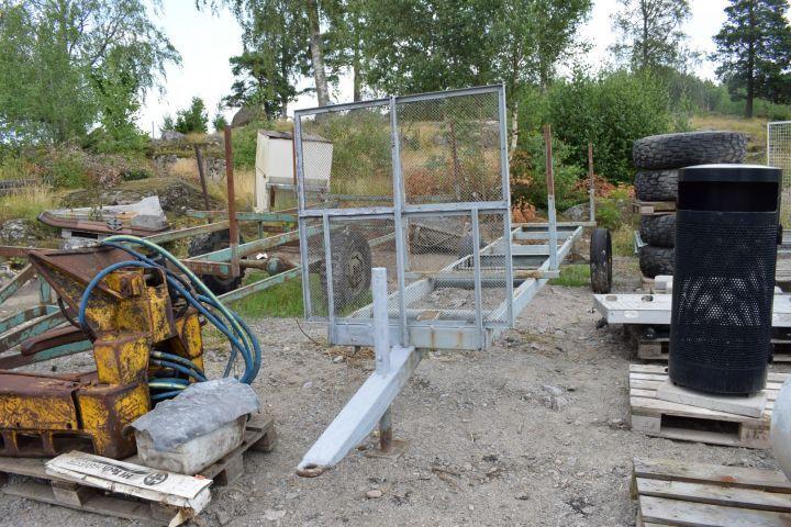 Bewässerungswagen für 8 m Aluminium / Bewässerungsrohr
