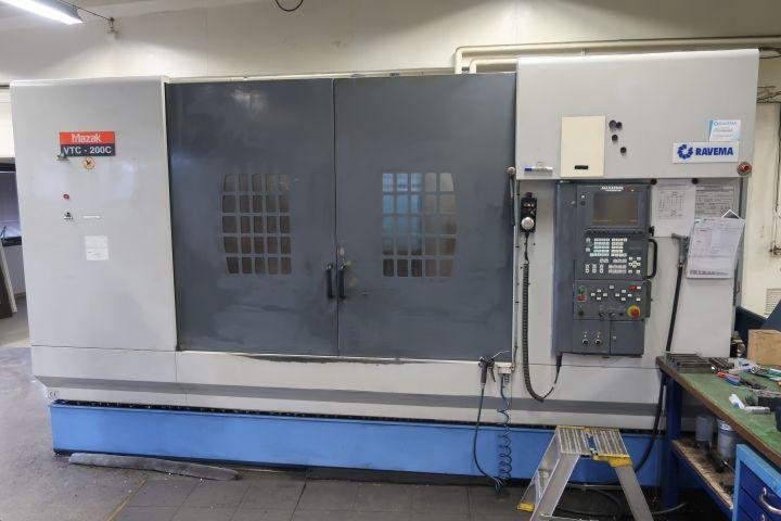 CNC Vertikal Multiplex, MAZAK VTC-200C -2001