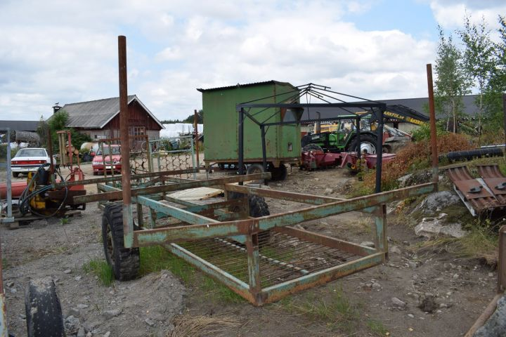 Bewässerungswagen für 8 Meter Aluminiumrohr / Bewässerungsrohr