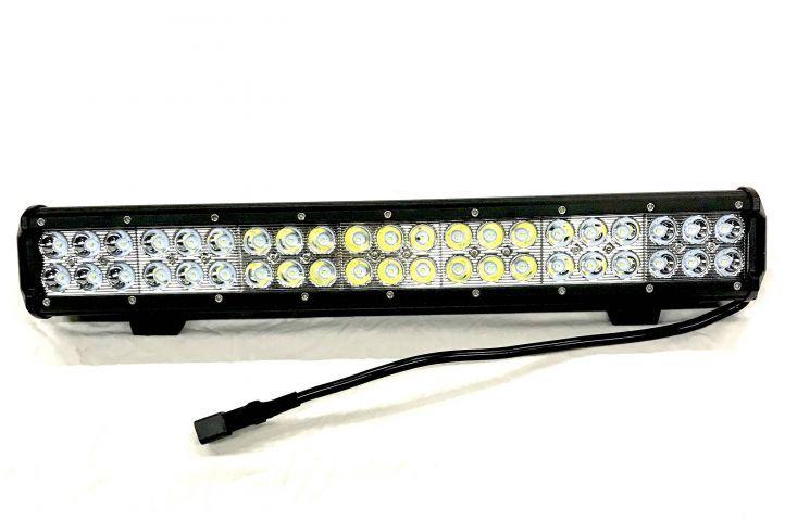 3 Lichtrampen LED 126w - CREE - Langes Lichtbild
