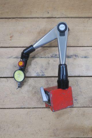 Magnetständer Kamusa mit Mitutoyo Neigungsanzeige