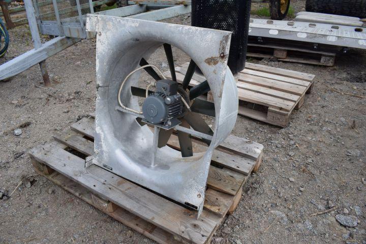 Ventilator für Pferdestall