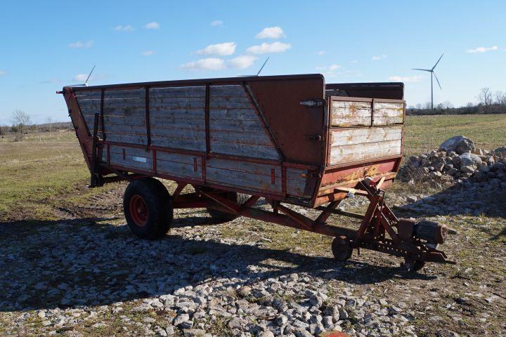 Abladewagen mit Elektromotor