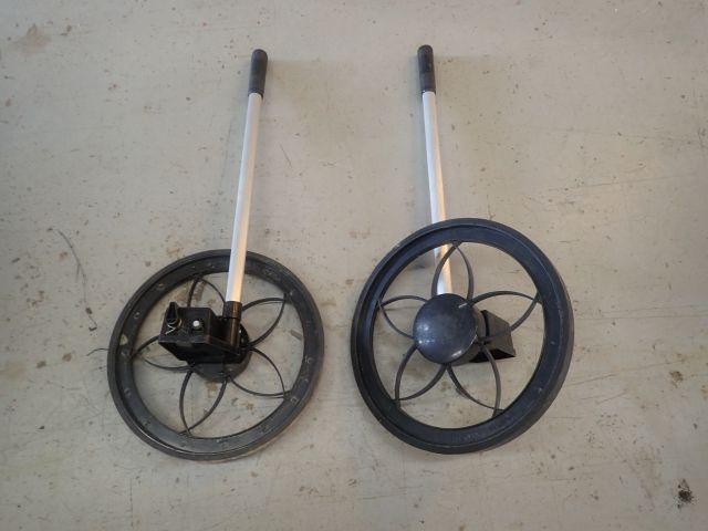 Zwei Messräder