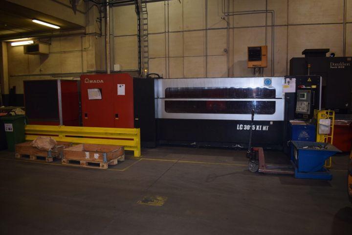 Laserschneidanlage AMADA LC 3015 X1 NT 4 kW 2007 Jahr