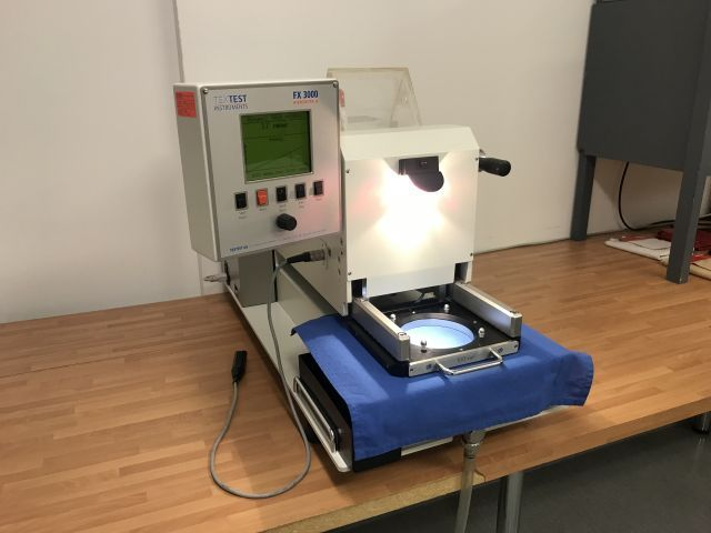 Materiał-Hydrotester TexTest FX3000