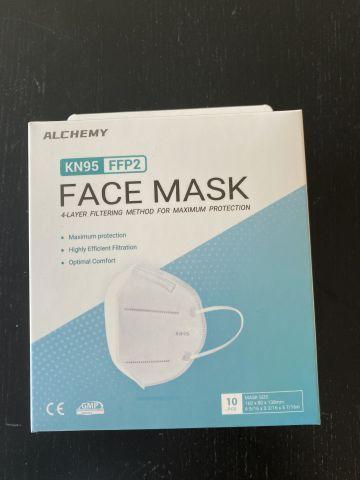 Gesichtsmaske KN95 / FFP2 - 400 Stk