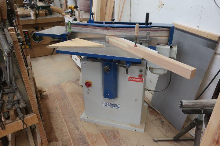 Kantenreinigungs- / Reinigungsmaschine, Rehnen R1 / s