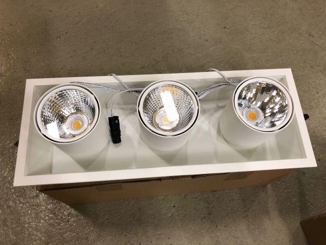 Flex Spot LED dreifach