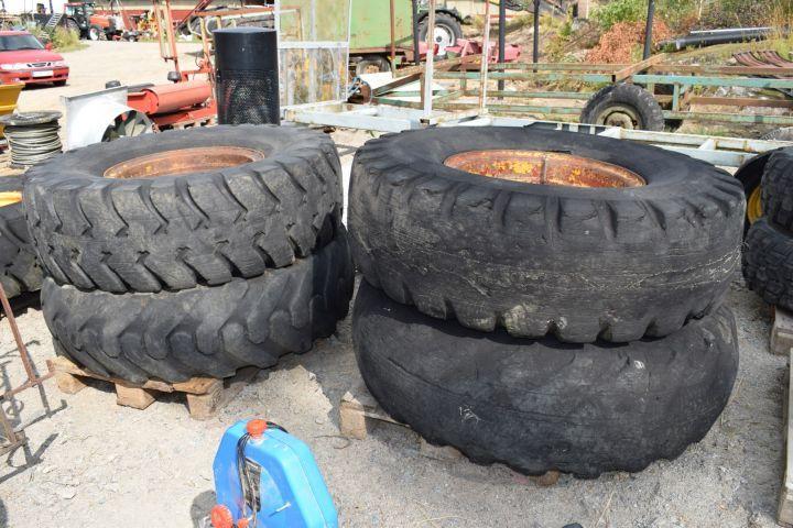 4er Reifen mit Felge
