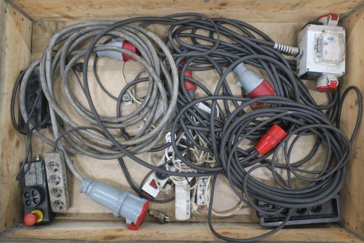 Kabel - und Abzweigverbinder usw