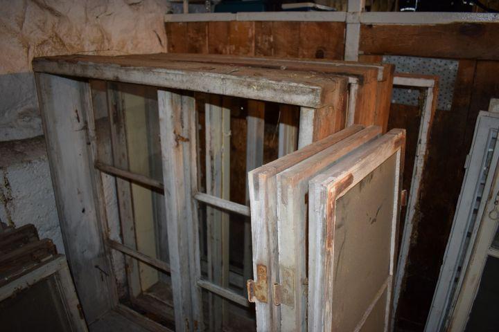 Alte Häuschenfenster