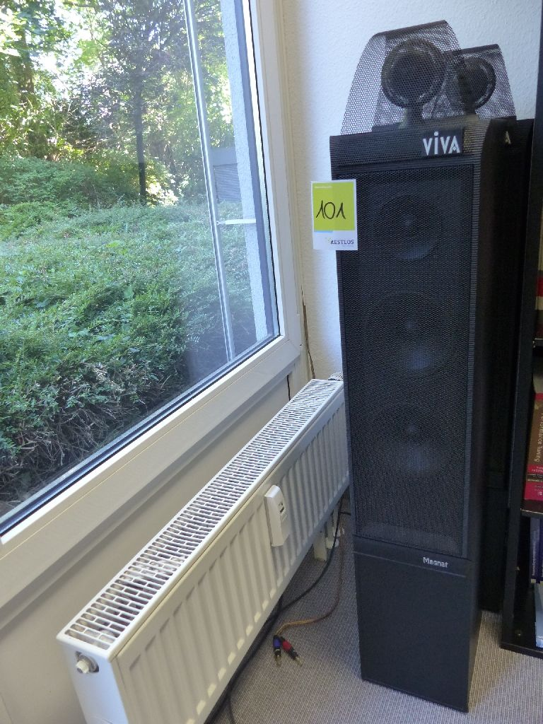 2x Lautsprecher der Marke Magnat, Typ Viva 33