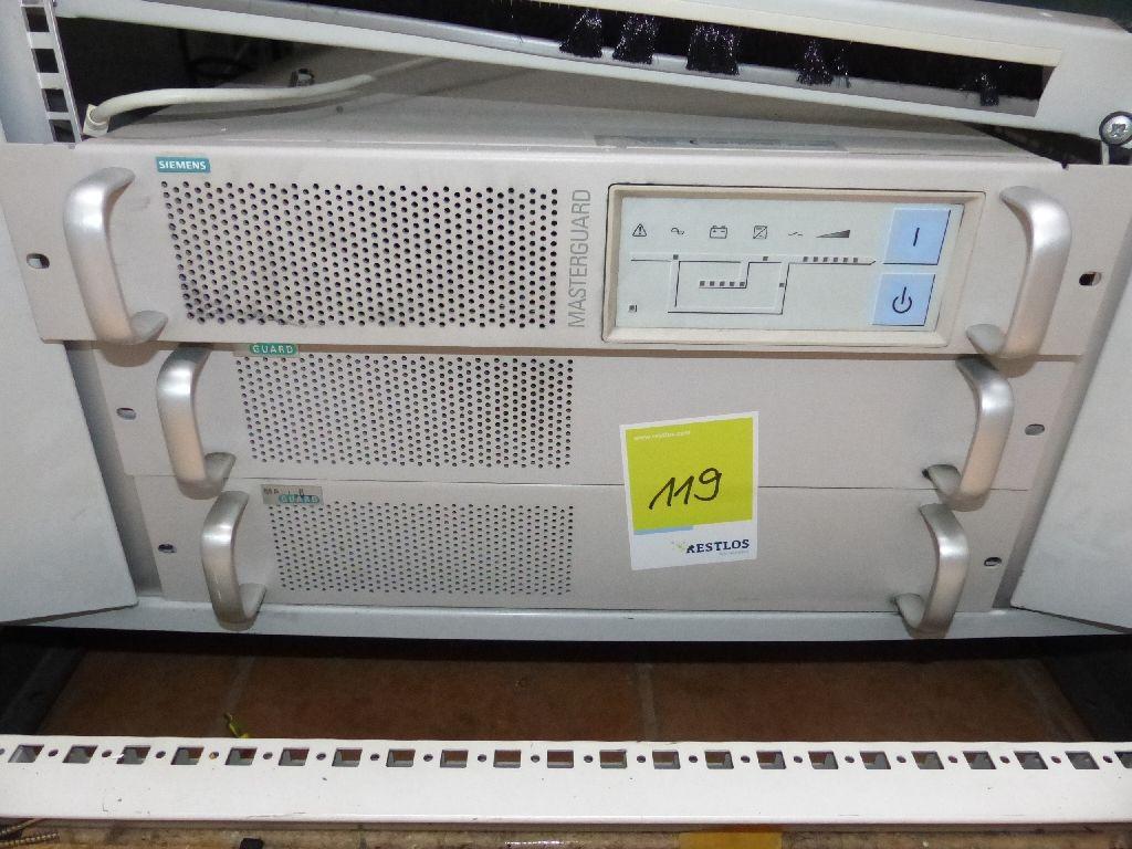 Siemens MasterGuard On-Line USV UPS A-19 A3000-19
