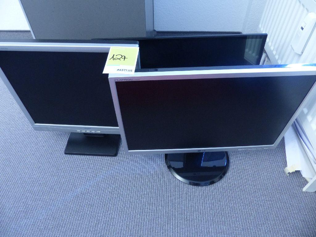 3x Monitore, Iiyama, LG, Samsung