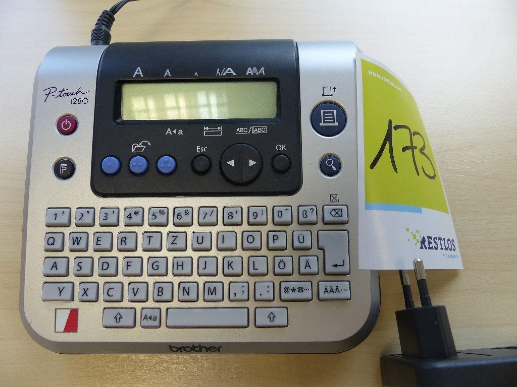 P-Touch 1280 Beschriftungsgerät der Marke Brother