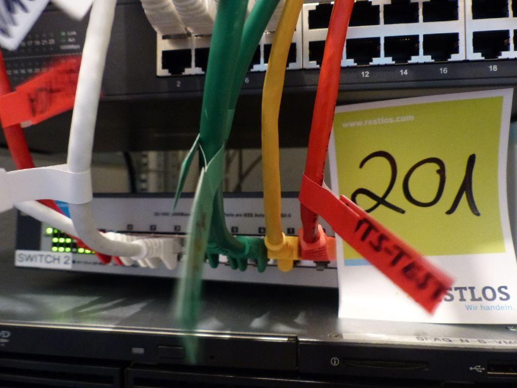 Switch der Marke HP, Typ ProCurve 1400-8G