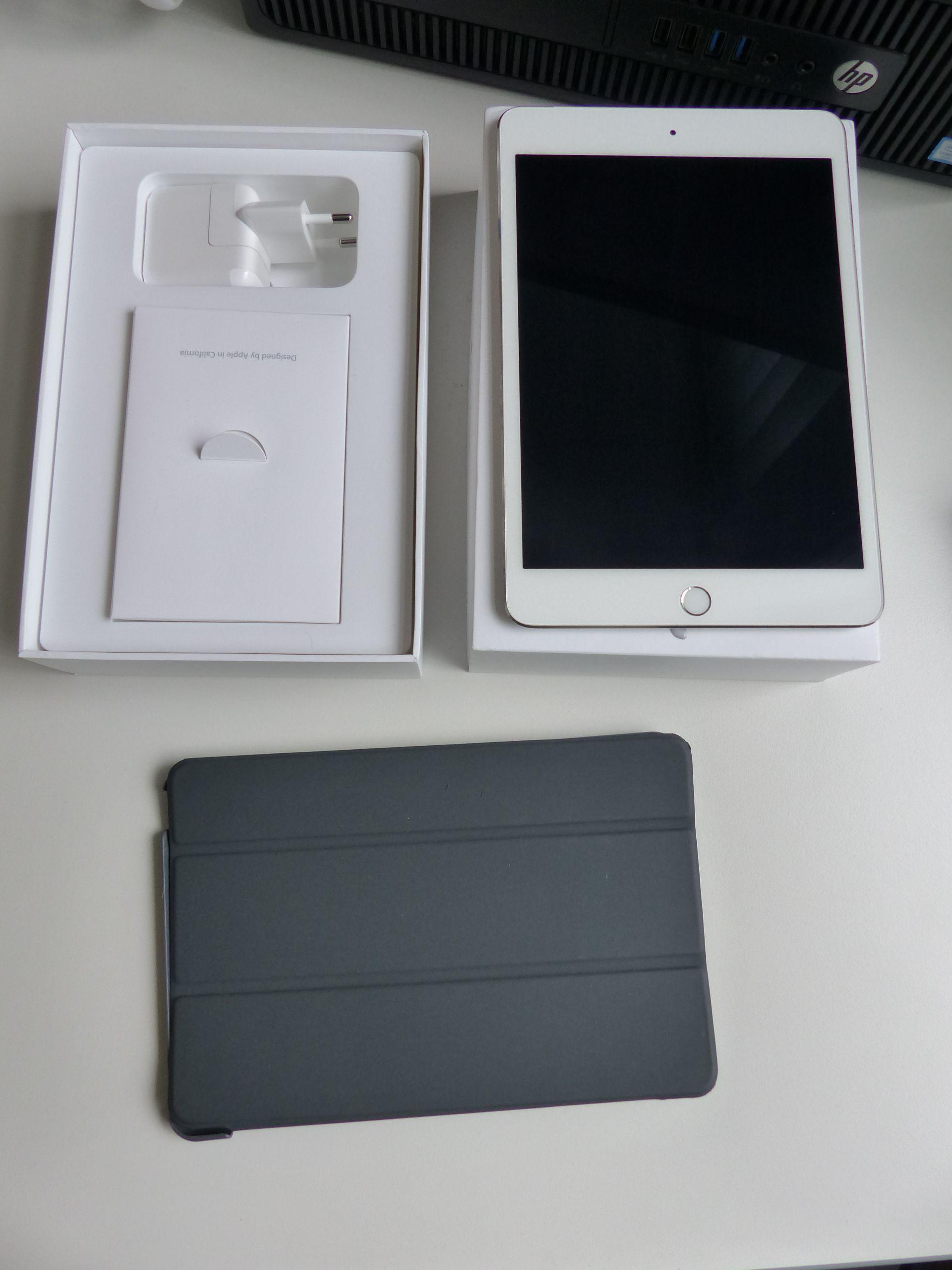 iPad mini 4 Wifi Cellular 128Gb Silver