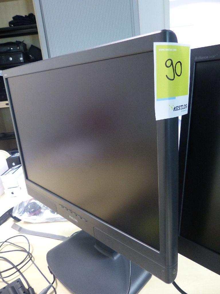 2x TFT Monitore der Marke Philips