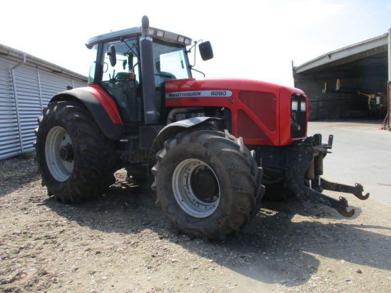 MF 8280 Xtra Power Control Allrad-Traktor