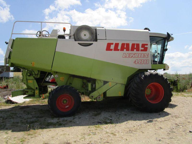 Claas Lexion 480 Mähdrescher 30 ft / Mähdrescher 30 ft