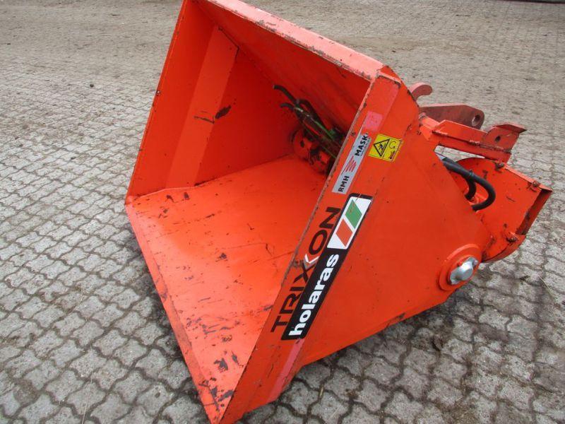 Holaras H-750 Futterkasten mit Schnecke und Streuteller / Futterkasten mit Schnecke und Streuteller