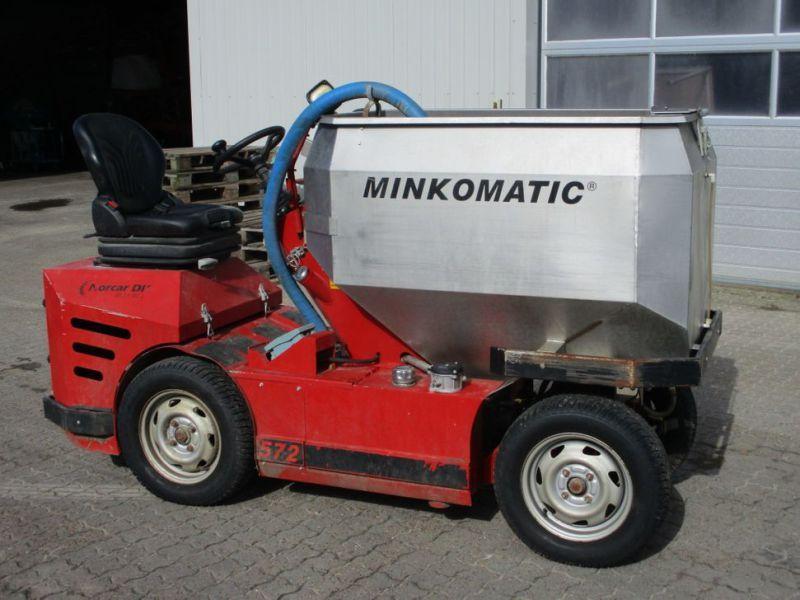 Minkomatic 572 Futtermaschine 2013 / Futterwagen