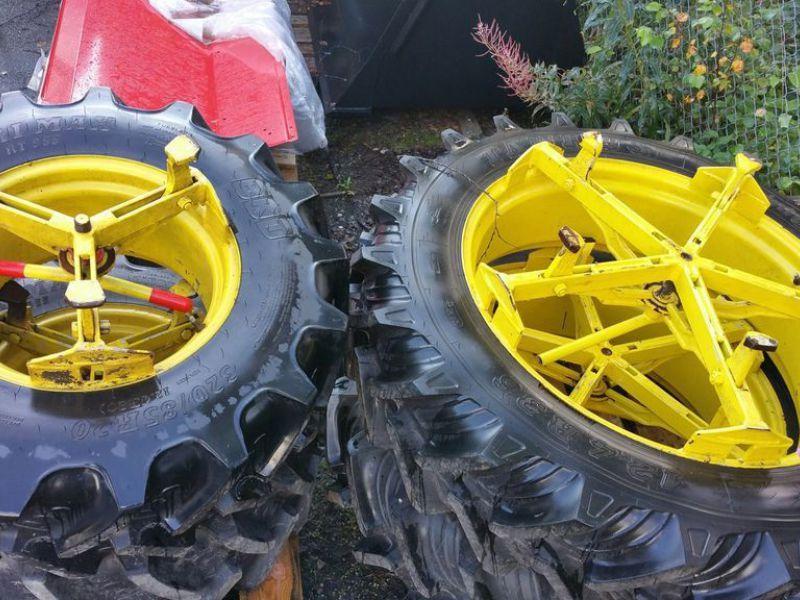 Gebrauchte Traktor Zwillingsräder