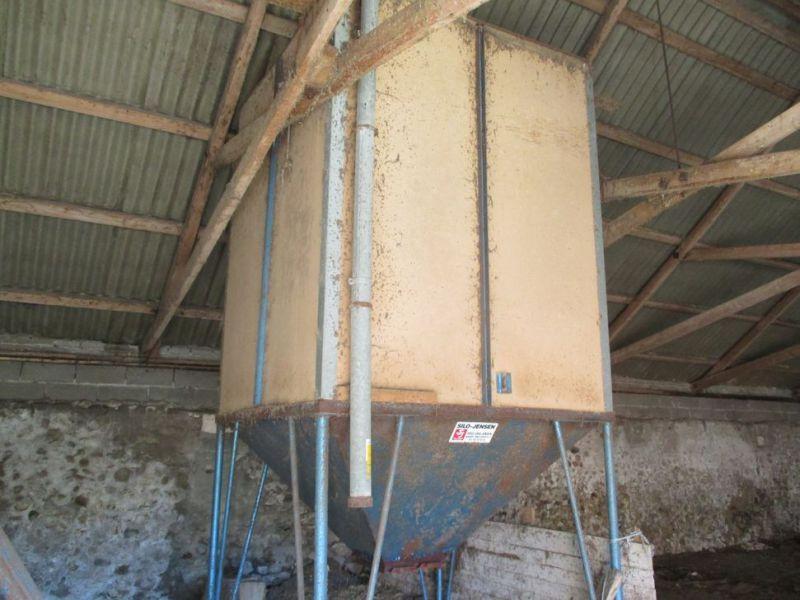 Getreidesilo mit 5 Meter 100 mm Schnecke / Getreidesilo mit 5 Meter 100 mm Schnecke