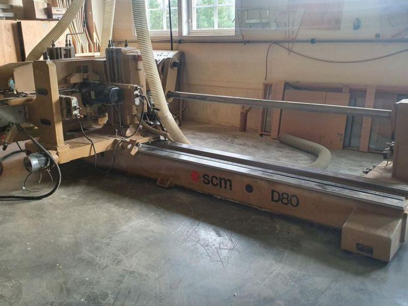 SCM D80 Doppelstiftschneider