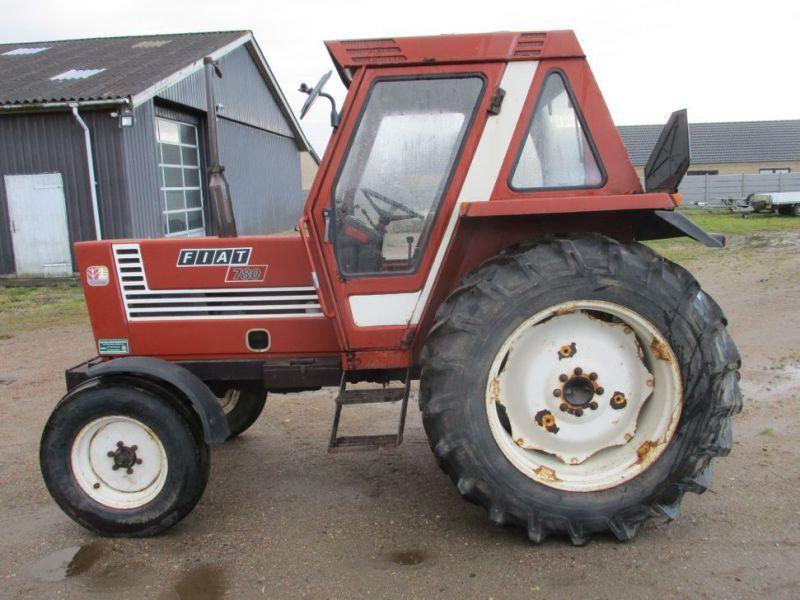 Fiat 780 Traktor mit wenigen Betriebsstunden / Traktor mit wenigen Betriebsstunden