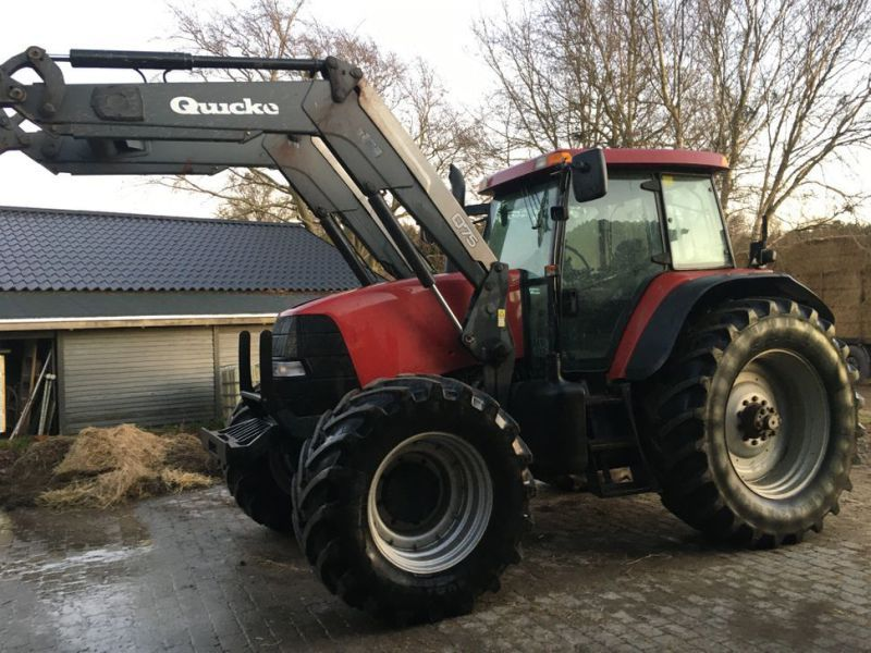 Case IH MXM 190 Traktor mit Ålö Q75 Frontlader / Traktor mit Ålø Q75 Frontlader