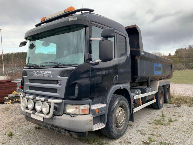 Scania R340 6X2 Kipper