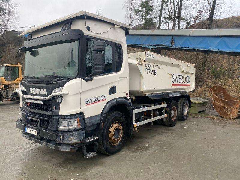 Bergbau-LKW / Bergbau-LKW Scania