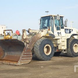 2007 CATERPILLAR 966H Radlader