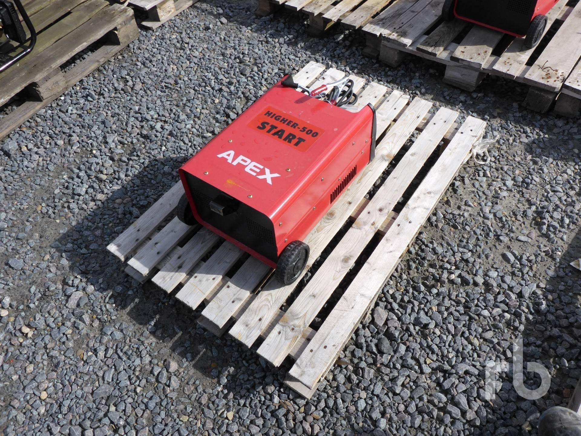 UNUSED 2019 APEX HIGHER-500 Booster-Ladegerät