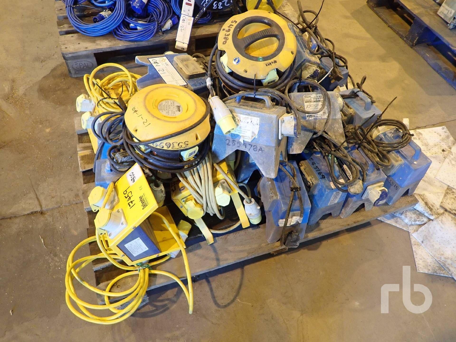 Menge der Box-Splitter-Stromversorgungen