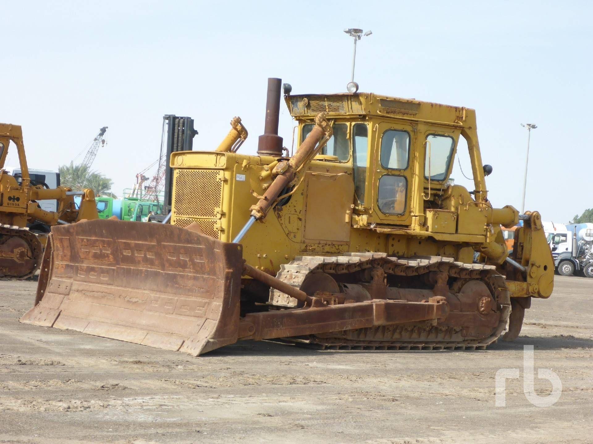 KOMATSU D155A-1 Raupentraktor