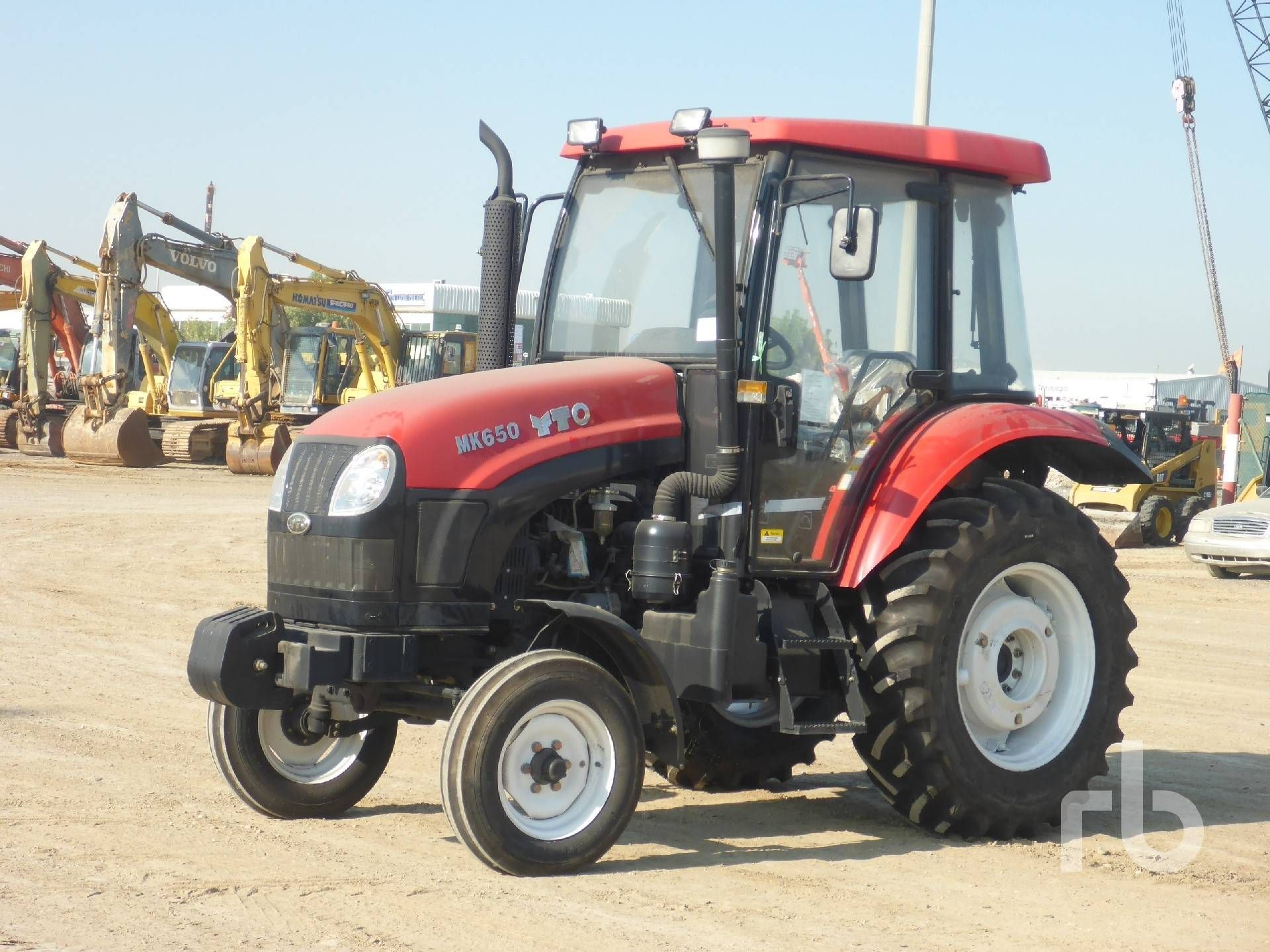 NICHT VERWENDET 2017 YTO MK650 2WD Traktor