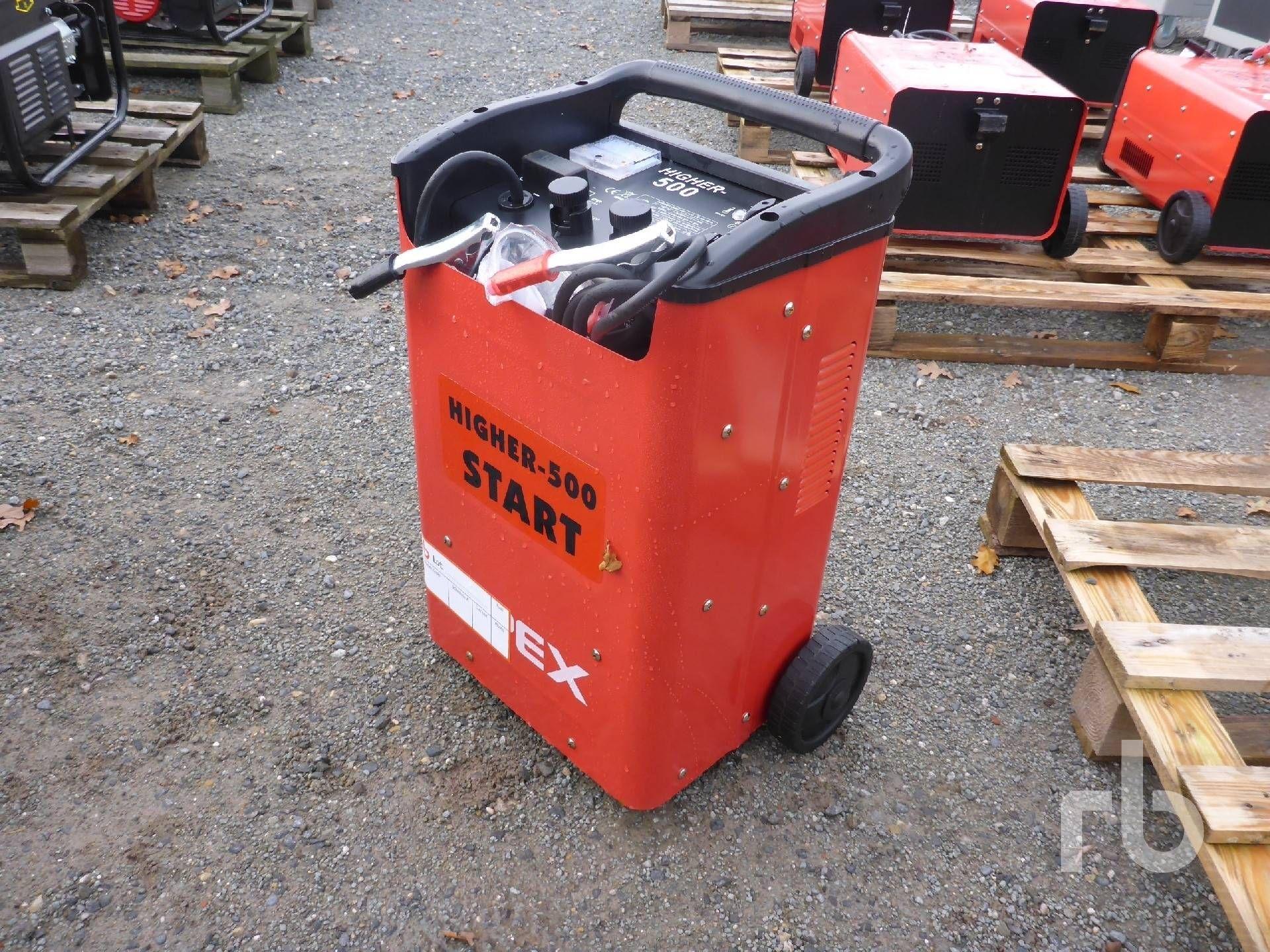 Unbenutzte APEX HIGHER 500 Booster Batterieladegerät Lot # 5921