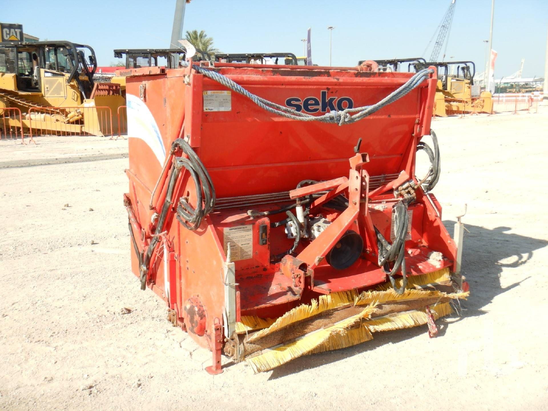 2002 SEKO BM 27S1 3 Pt Anhängerkupplung Rasenfräse Landmaschinen - andere