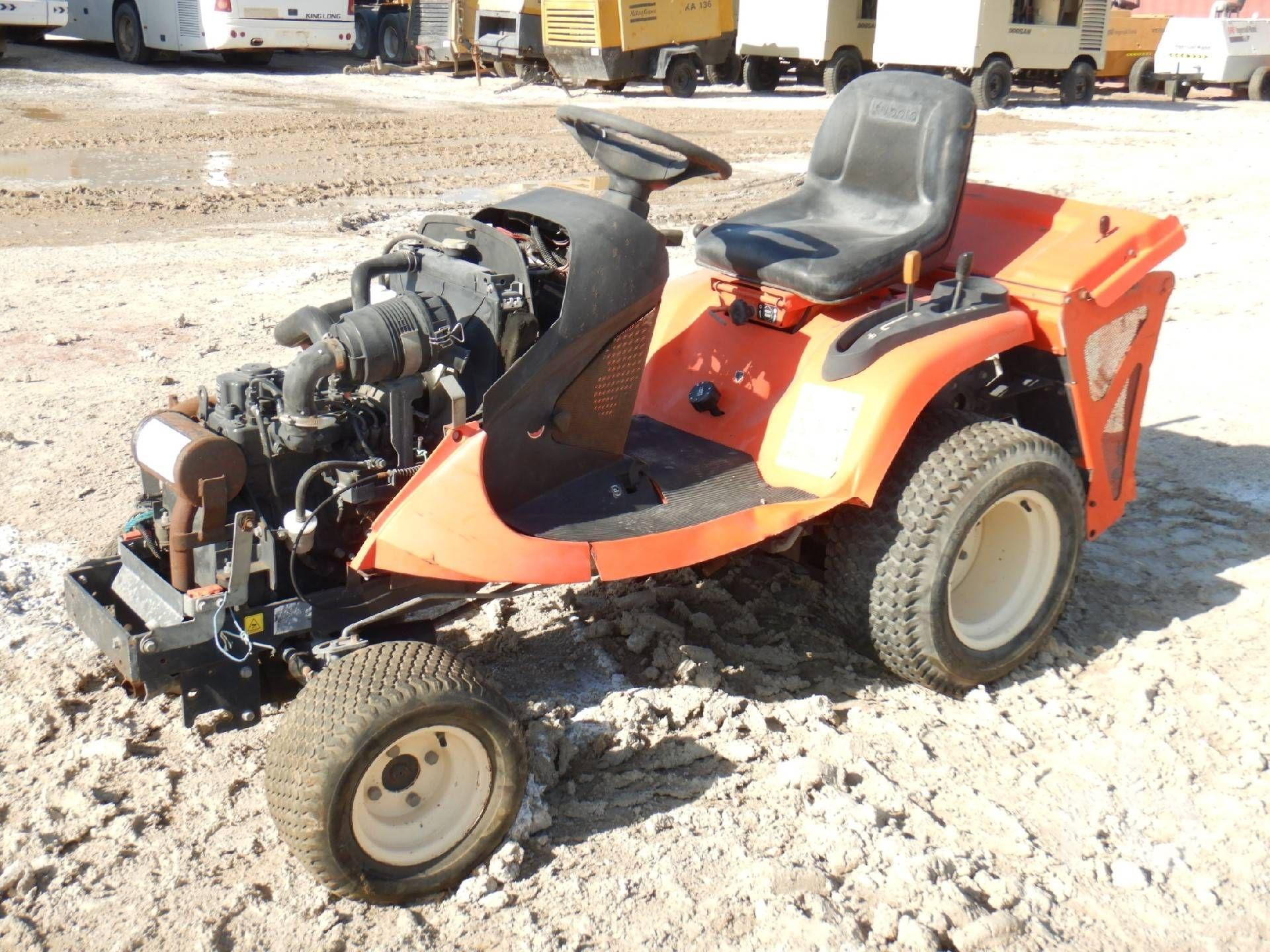 2014 KUBOTA GR2120EU 4x4 Gartentraktor