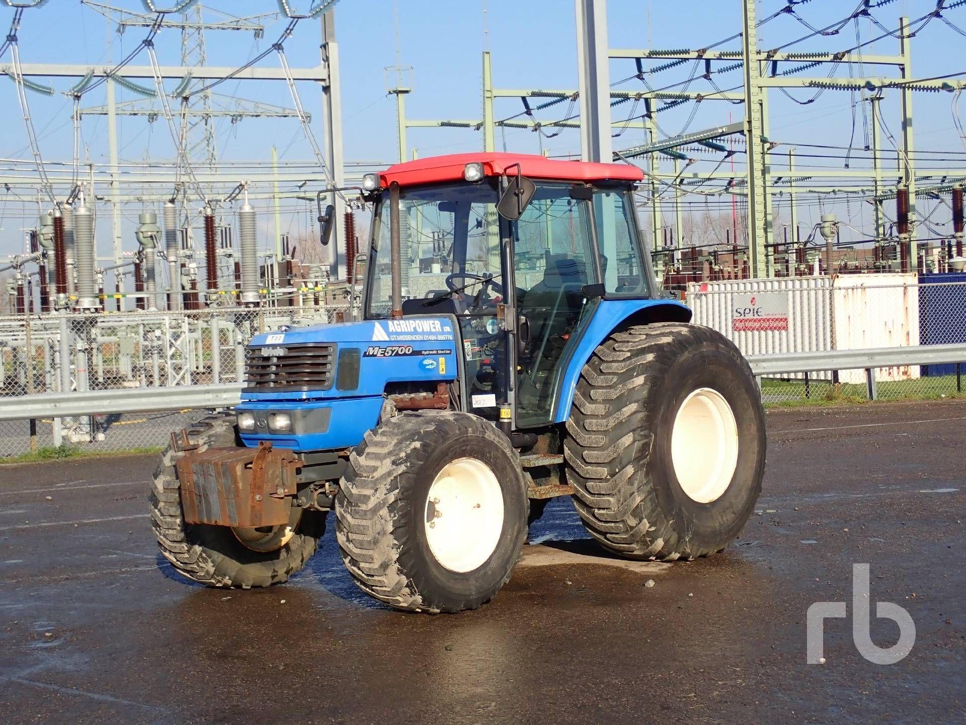 2008 KUBOTA ME5700 4WD Landwirtschaftstraktor MFWD Tractor Lot # 976