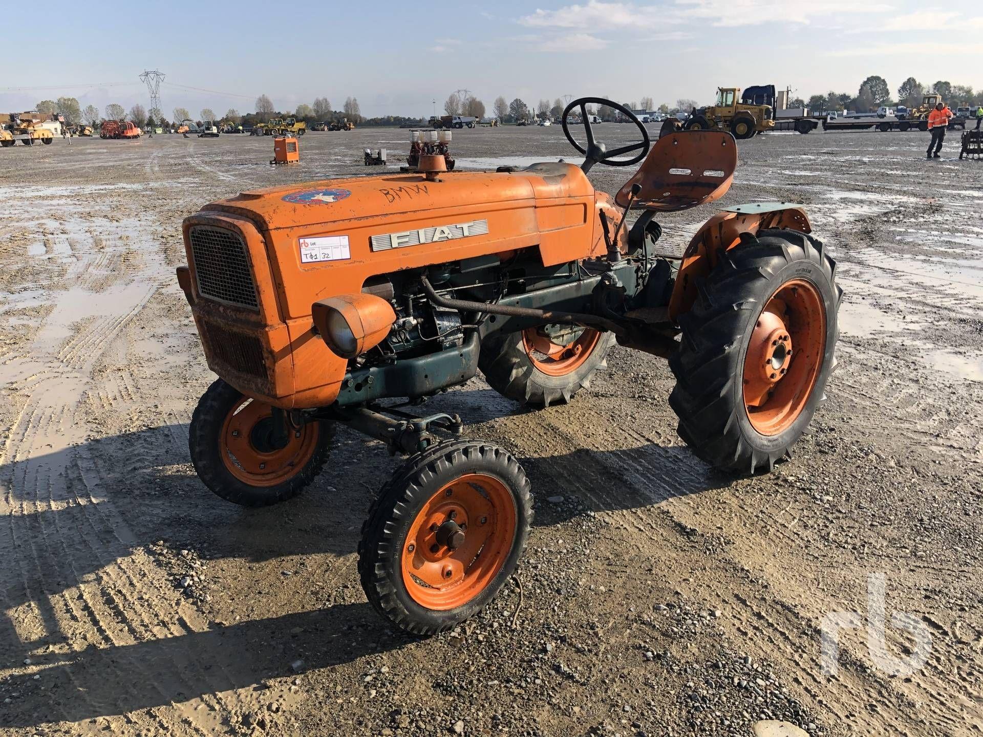1967 FIAT 215 Oldtimer Traktor