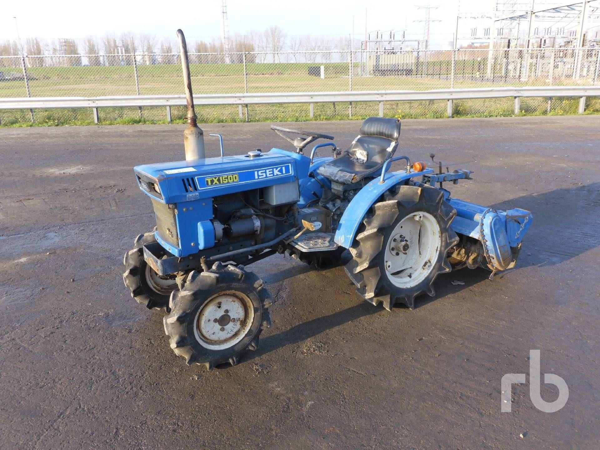 ISEKI TX1500F 4WD Utility Tractor Warennummer 972