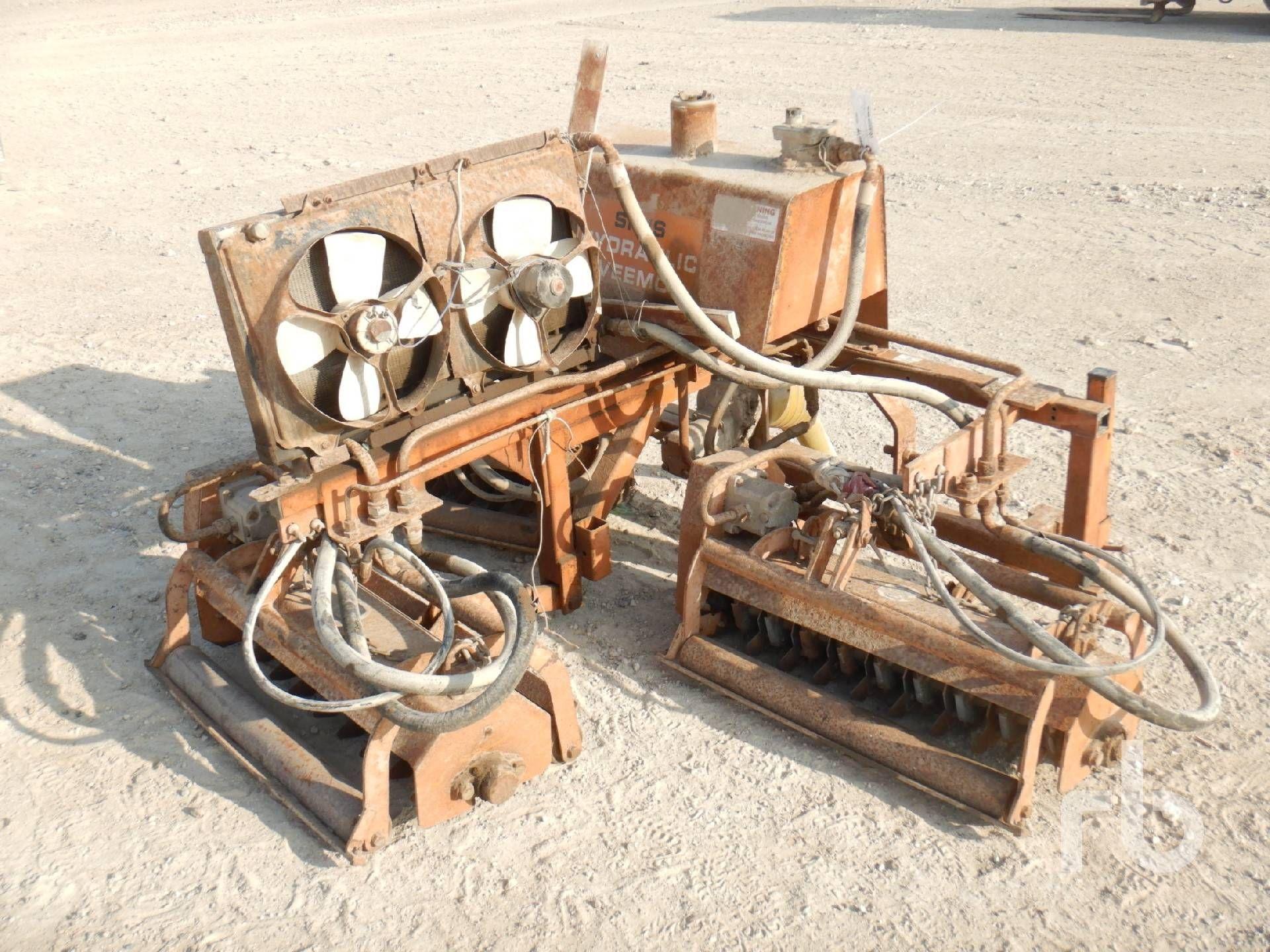 SISIS 3 Pt Anhängerkupplung Typ Hyd Rototiller Landmaschinen - andere