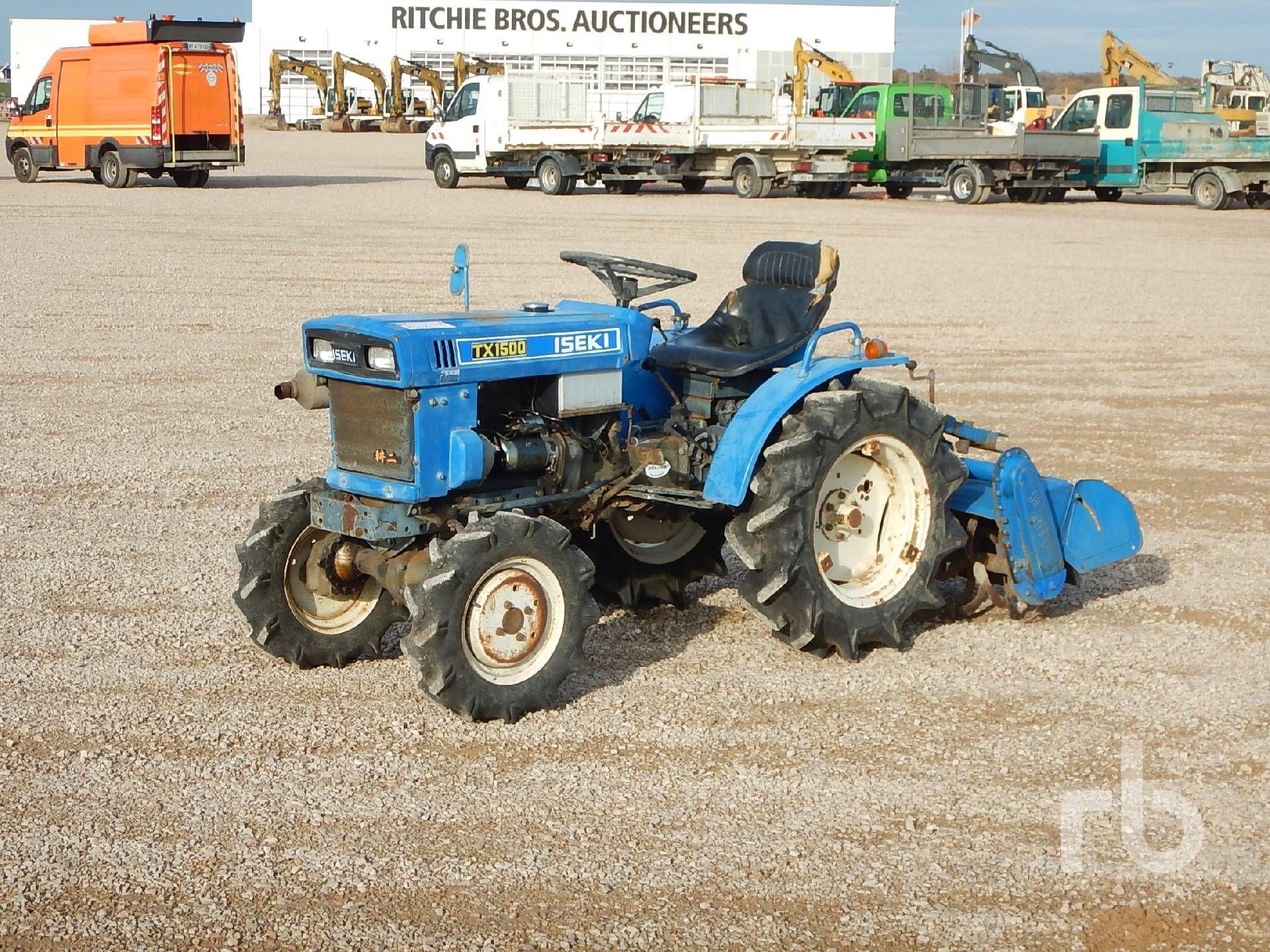 ISEKI TX1500F Allrad-Traktor