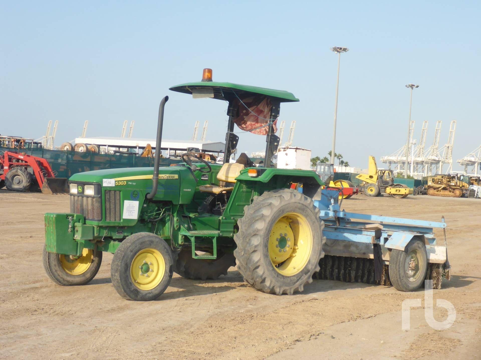 JOHN DEERE 5303C 2WD Traktor