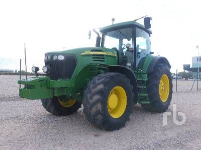 2005 JOHN DEERE 7920 MFWD Traktor